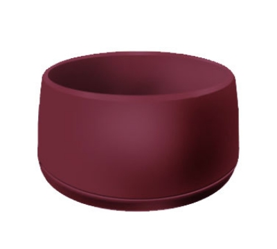 Dinex DX118561 9-oz Classic Insulated Ware Stackable Bowl, Cranberry