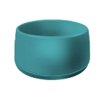 Dinex DX118515 9-oz Classic Insulated Ware Stackable Bowl, Teal