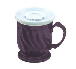 Dinex DX300068 8-oz Turnbury Insulated Pedestal Base Cup, Plum