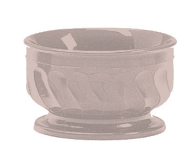 Dinex DX330031 9-oz Insulated Pedestal Base Bowl For Turnbury, Latte
