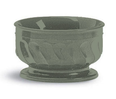 Dinex DX330084 9-oz Insulated Pedestal Base Bowl For Turnbury, Sage