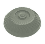 "Dinex DX340084 Turnbury Insulated Dome for 9"" Plates - Sage"