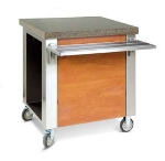 Dinex DXDCS 30-in Cashier Stand w/ Stainless Top, Front & End Panels