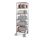 Dinex DXIBDRP200 Drying & Storage Rack w/ 200 Induction Bases Capacity, Stainless