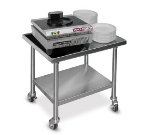 "Dinex DXICTABLEM 30.5"" Mobile Table w/ Open Base for Power-Therm Induction Charger"