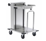 Dinex DXIDT1C1622 Mobile Cantilever Tray Dispenser w/ 150-Tray Capacity, 16 x 22""