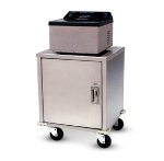 Dinex DXIQTEC Mobile Enclosed Induction Equipment Stand, 26 x 20.5 x 21.75""