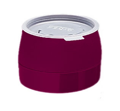 Dinex DX110561 5-oz Classic Insulated Ware Stackable Bowl, Cranberry