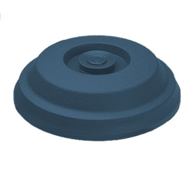 "Dinex DX117350 Low Profile Insul-Dome for 9"" Plates -  Midnight Blue"