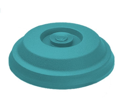 "Dinex DX117315 Low Profile Insul-Dome for 9"" Plates - Teal"