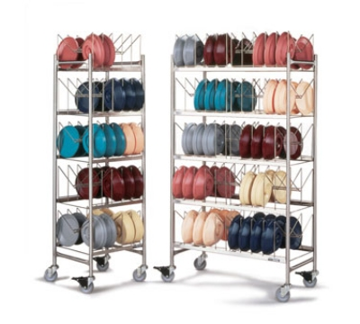 Dinex DX1173X100 5-Level Mobile Drying Rack for Dishes