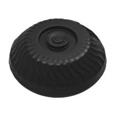 "Dinex DX340003 Turnbury Insulated Dome for 9"" Plates - Onyx"