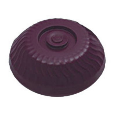 "Dinex DX340061 Turnbury Insulated Dome for 9"" Plates - Cranberry"