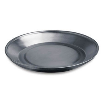"Dinex DXTMP1097A 9/5"" Wax Base for 9"" china plates, Stainless Steel"