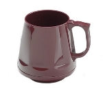 Dinex DX400061 8-oz Heritage Insulated Stackable Mug, Cranberry