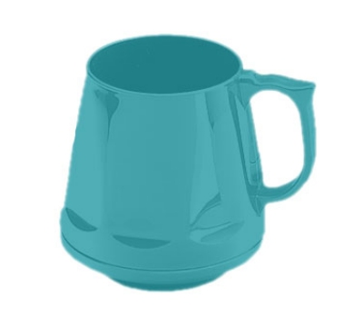 Dinex DX400015 8-oz Heritage Insulated Stackable Mug, Teal
