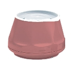 Dinex DX420056 5-oz Heritage Insulated Stackable Bowl, Mauve
