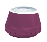Dinex DX420061 5-oz Heritage Insulated Stackable Bowl, Cranberry
