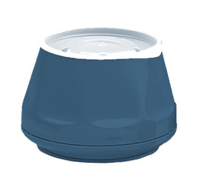Dinex DX420050 5-oz Heritage Insulated Stackable Bowl, Midnight Blue