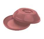 "Dinex DX440056 Heritage Insulated Dome for 9"" Plates - Mauve"