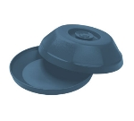 "Dinex DX440050 Heritage Insulated Dome for 9"" Plates - Midnight Blue"