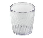 Dinex DX4GC907 9-oz Swirl Tumbler, Clear