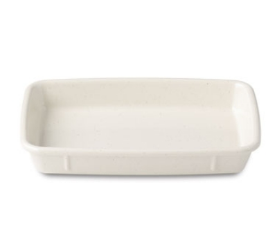 Dinex DX4T802 12-oz Reusable Rectangular Entree Dish, White