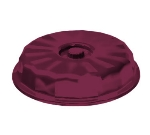"Dinex DX9400B61 9"" Tropez Convection Entree Dome w/ High Heat Resin, Cranberry"