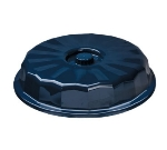 "Dinex DX9400B50 9"" Tropez Convection Entree Dome w/ High Heat Resin, Midnight Blue"