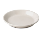 "Dinex DXHHC1002 7.75"" Perfect-Temp High Heat Entree Plate, White"