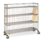 Dinex DXIRDSIF 4-Level Mobile Drying Rack for Trays