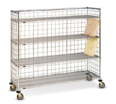 Dinex DXIRDSIH 4-Level Mobile Drying Rack for Trays