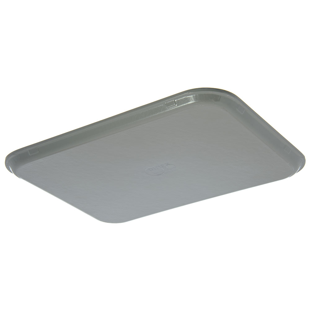 "Dinex DX1089M23 Fiberglass Flat Meal Delivery Tray, 15 x 20"", Gray"