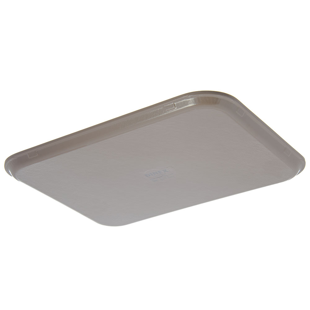 "Dinex DX1089M31 Fiberglass Flat Meal Delivery Tray, 15 x 20"", Latte"