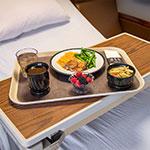 "Dinex DX1089M42 Fiberglass Flat Meal Delivery Tray, 15 x 20"", Ivory"