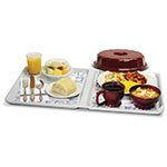 Dinex DX1089MOC23 Flat Meal Delivery Tray, 22 x 16 x 5.25-in