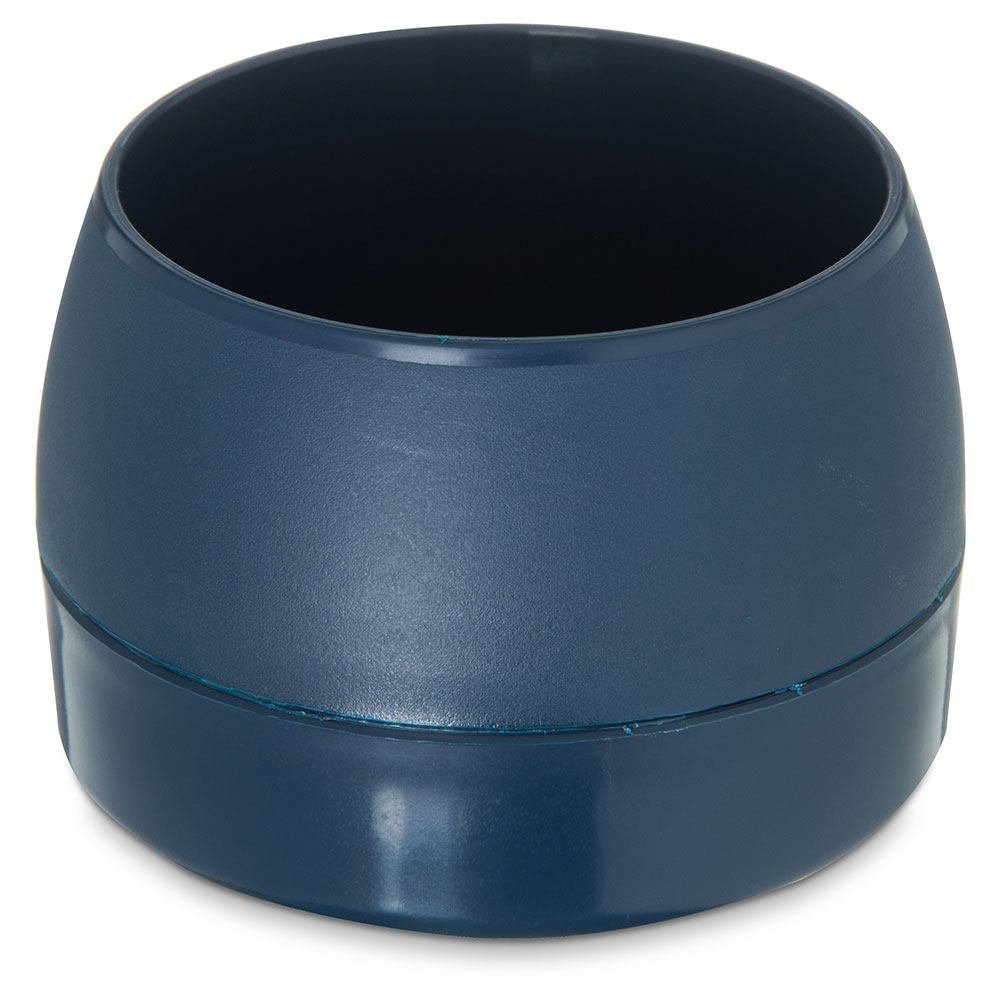 Dinex DX110550 5-oz Classic Insulated Ware Stackable Bowl, Midnight Blue