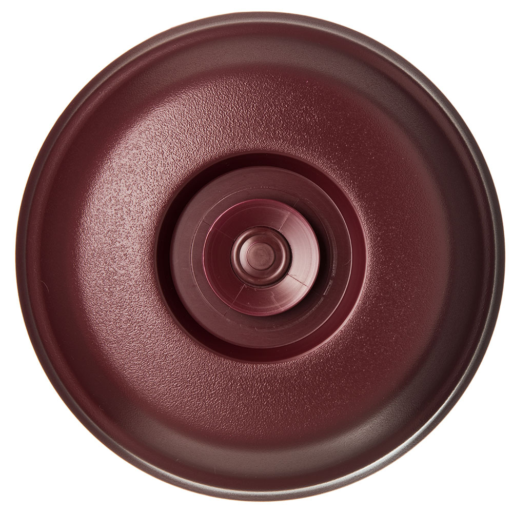 """Dinex DX113861 High Profile Insul-Dome for 9"""" Plates - Cranberry"""