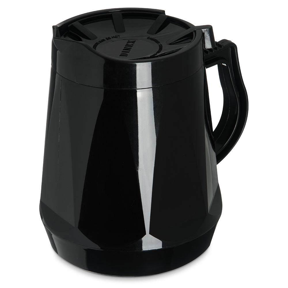 Dinex DX1150-03 Insulated Beverage Server w/ Snap on Lid, 1/2-Liter, Onyx