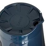 Dinex DX1150-50 Insulated Beverage Server w/ Snap on Lid, 1/2-Liter, Midnight Blue