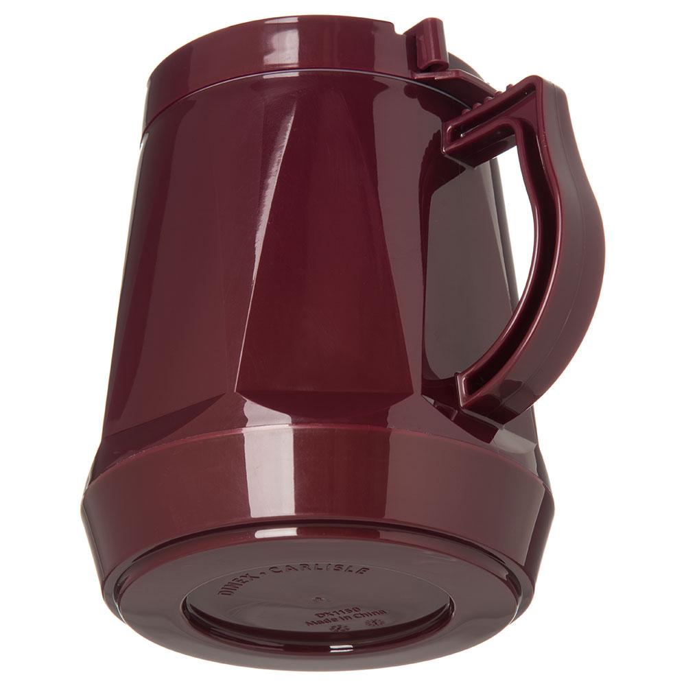 Dinex DX1150-61 Insulated Beverage Server w/ Snap on Lid, 1/2-Liter, Cranberry