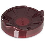 Dinex DX1156-61 Beverage Server Replacement Lid, Snap On, Insulated, Cranberry