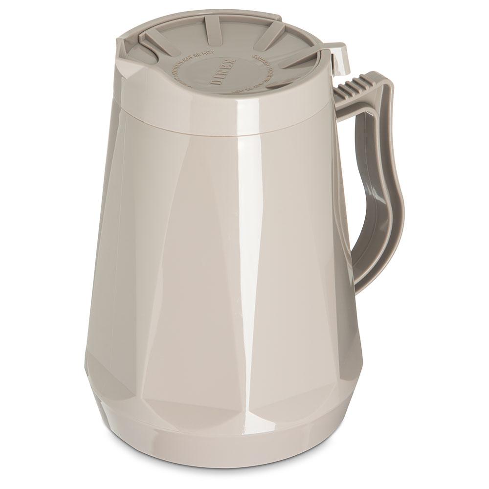 Dinex DX1160-31 Insulated Beverage Server w/ Snap on Lid, 1-Liter, Latte