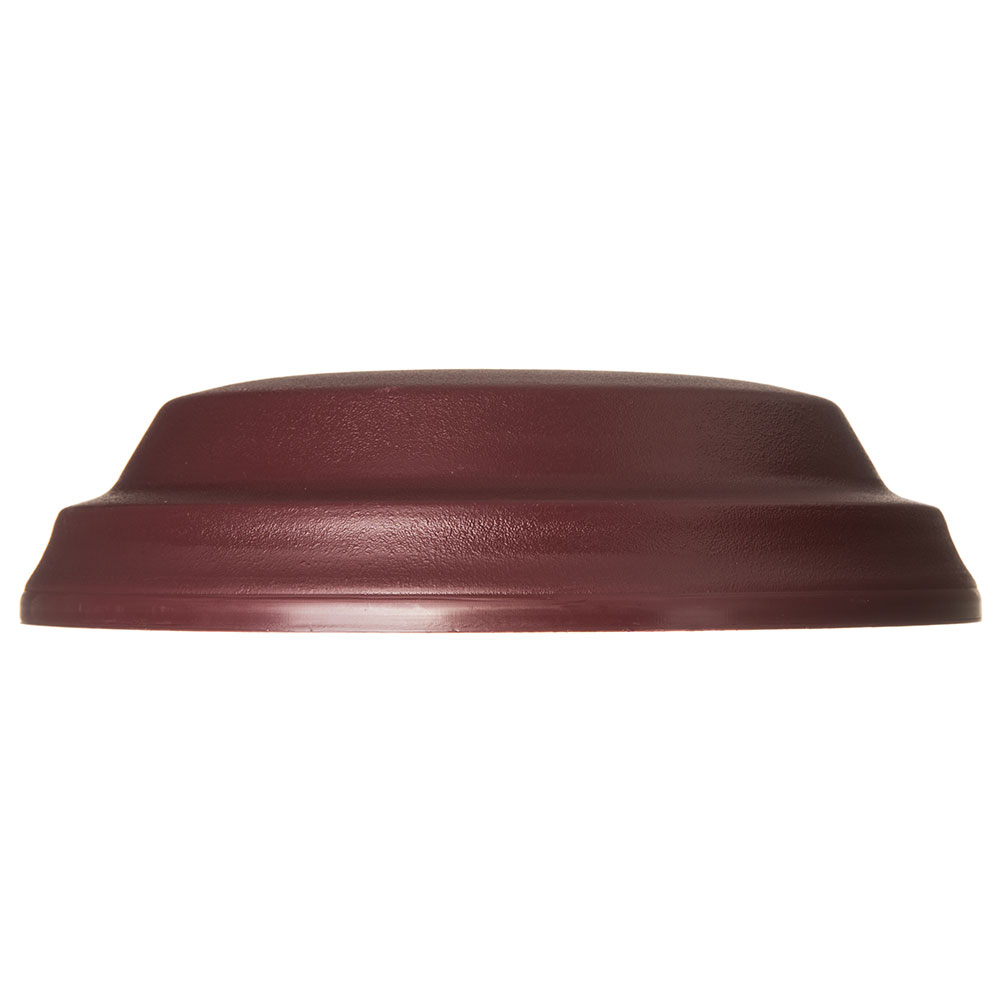 "Dinex DX117361 Low Profile Insul-Dome for 9"" Plates - Cranberry"