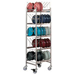 Dinex DX1173X50 5-Level Mobile Drying Rack for Dishes