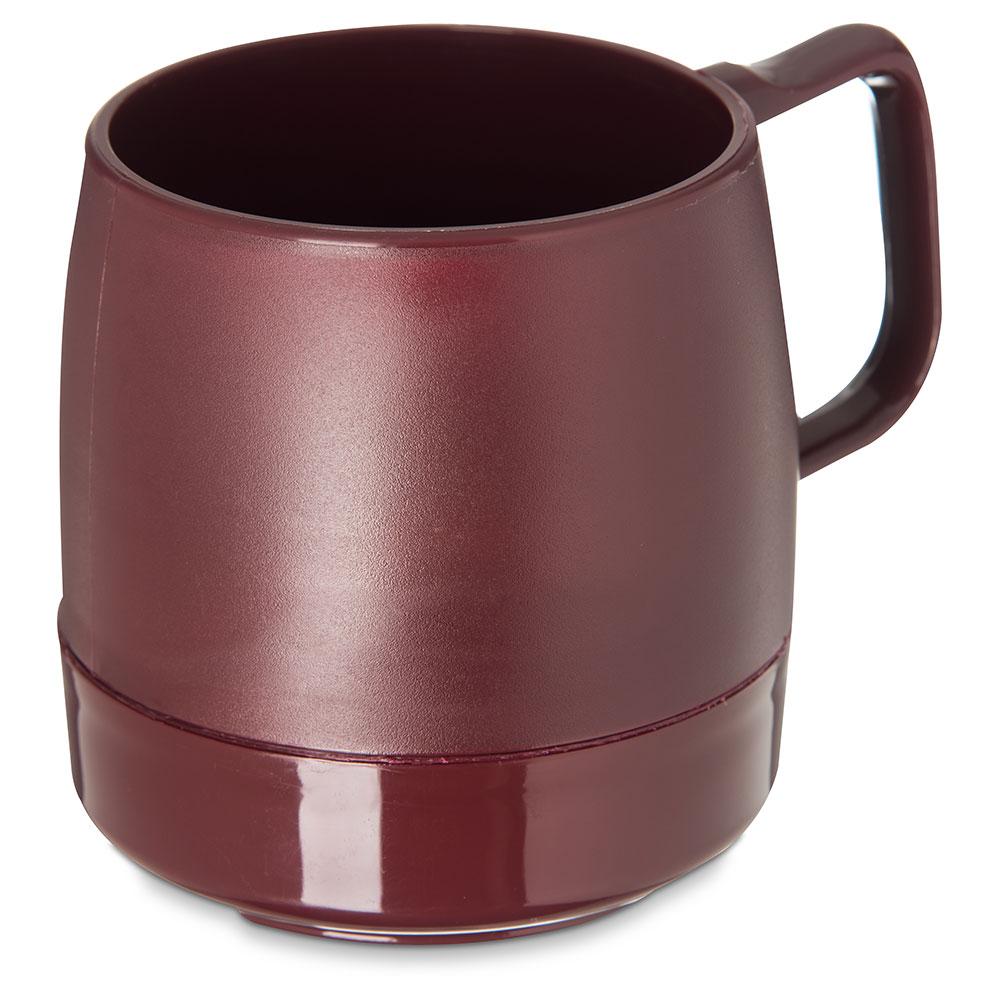 Dinex DX119761 8-oz Classic Insulated Stackable Mug, Cran...