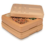 "Dinex DX1O202 Insulated Tray Server, 13 x 14.5 x 2-3/8"", Harvest Gold"
