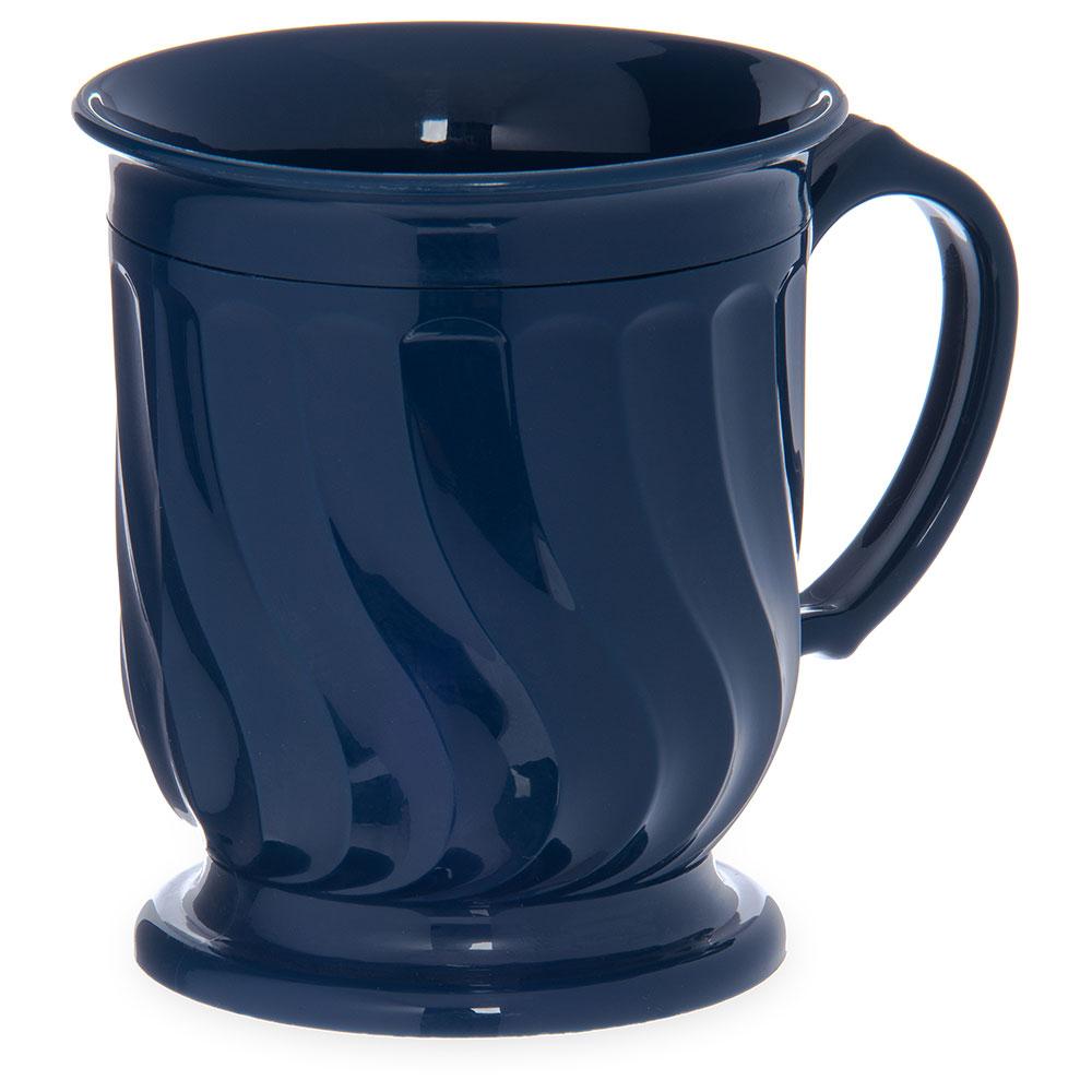Dinex DX300050 8-oz Turnbury Insulated Pedestal Base Cup, Midnight Blue