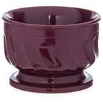 Dinex DX320061 5-oz Insulated Pedestal Base Bowl For Turnbury, Cranberry