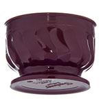 Dinex DX320061 5-oz Insulated Pedestal Base Bowl For Turnbury, Cranberry